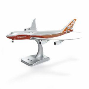 Boeing Modelo 747-8 Sunrise Livery Die-Cast Modelo 1: 400